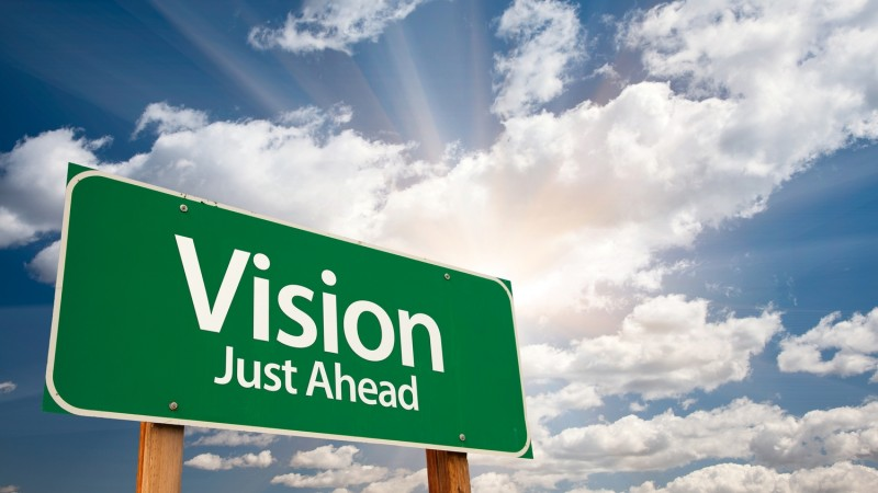 Vision, Provision, Decision, Choice, Accomplish
